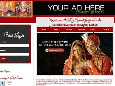 RajLaxmi - Matrimonial Website