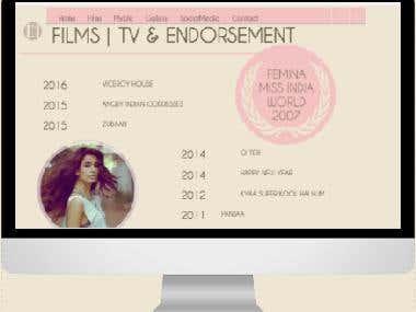 Sarah Jane Dias Website.