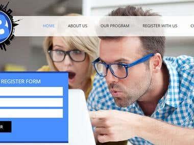Custom Website Using PHP