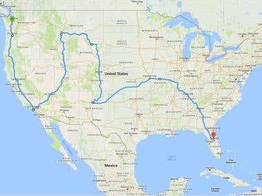 Google Maps API and MySQL Spatial Analysis