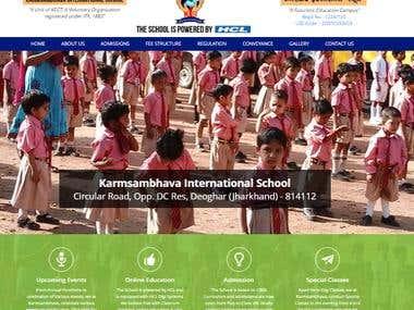 karmsambhava-Wordpress Website