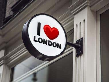 "Alternate ""I ❤ London"" logo"