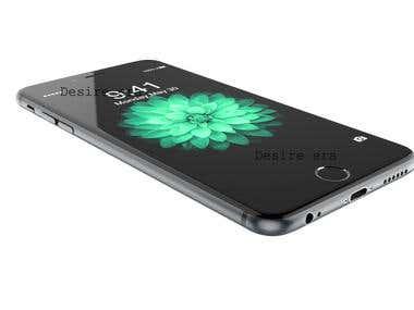 3d iphone6 design.