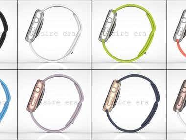 3d Apple watch design.