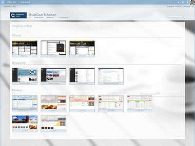 SharePoint WebPage ShowCase