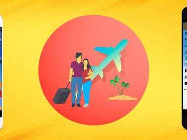TravelMeetDate Project - Mobile App
