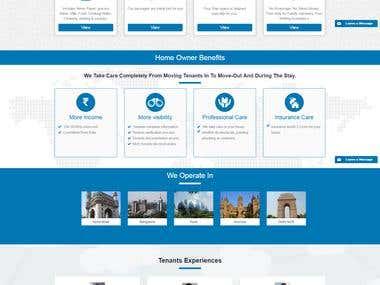 Flats Rental web portal