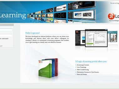 e-Learning Moodle Site