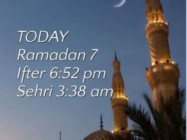 Ramadan Helper