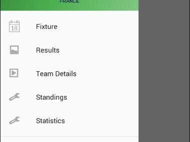 Euro'16 Android app