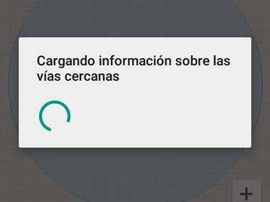 App android para servicios y comunicación entre taxistas