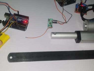 Arduino Wireless Actuator Control