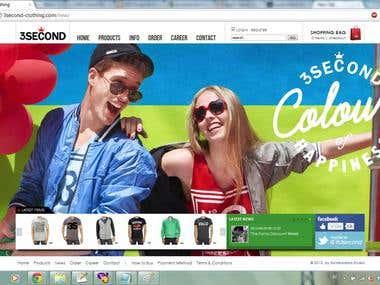 www.3second-clothing.com