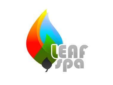 Logo - Leaf Spa
