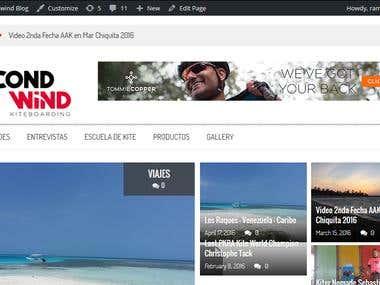 Web blog de KiteSurfing