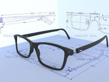 3d Sunglass design.