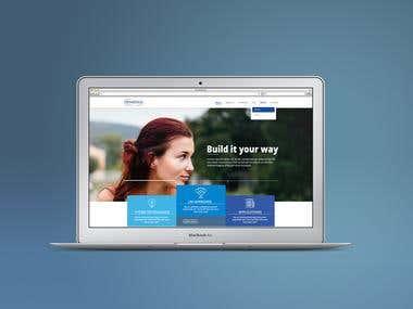 Web Design Mock-Up