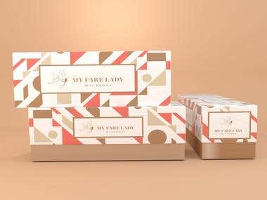 Packaging Design For Macarons