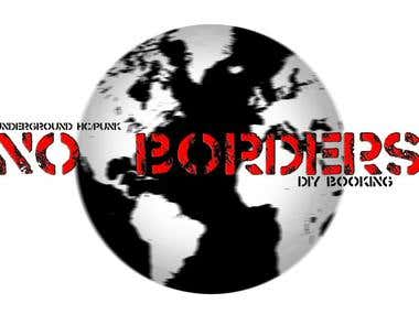 No Borders DIY logo