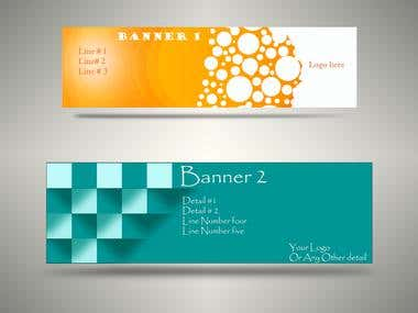 Banner & Logo Design