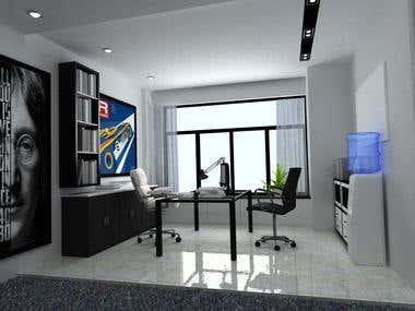 Interior modeling &  Rendering