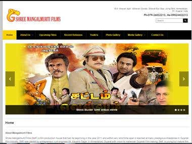 Website For Shree Mangal Murti Films