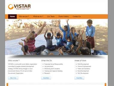 Website For Vistar India