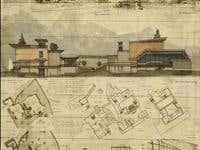 Multyfunctional complex in Wyoming, University project