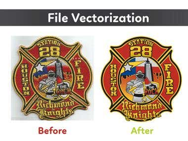 File vectorization