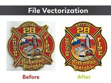 File vectorization