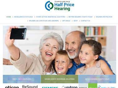 Online Shopping Store for Half Price Hearing