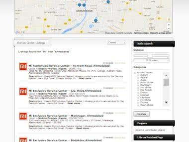 Website For Servicenters