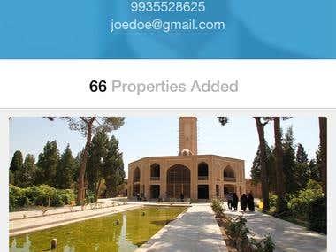 RealEstate Application Design