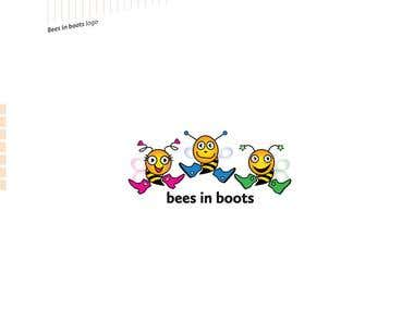 Bees in Boots | Logo (concept)