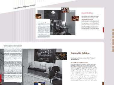 Grunerløkka Kafehus | Brochure