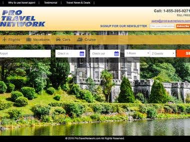 Booking website