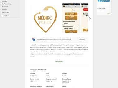 Premier Medical app