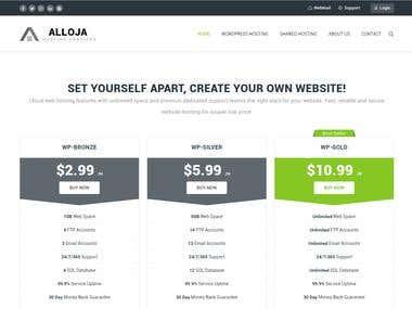 Alloja Hosting Solutions