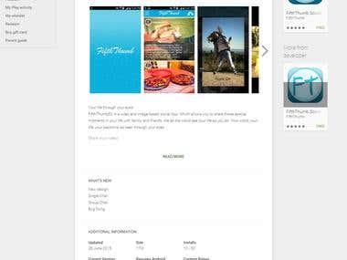 Video & Image Social app