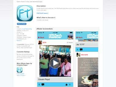 Video & Social Media app