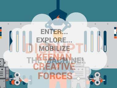 KEENAN  CREATIVE  FORCES