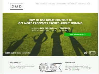 Fron-end Website development