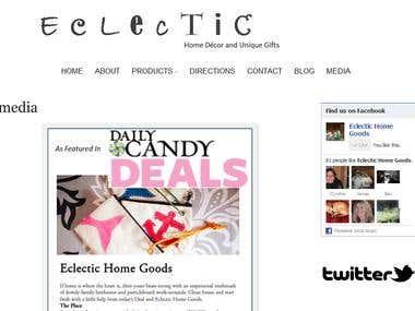 Home Decor store in Boston (WordPress)