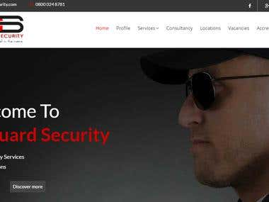 City Guard (Wordpress Development from Blank Canvas)