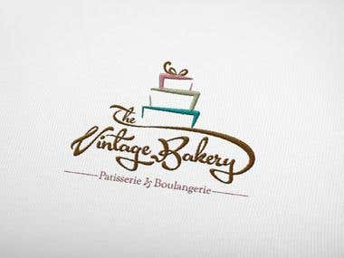 The Vintage Bakery (Logo Design)