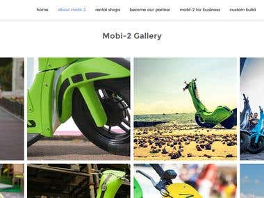 Mobi E Commerce WordPress Site