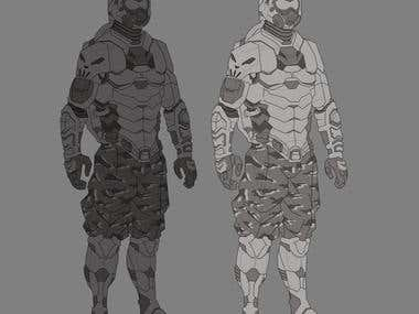 character/armor concept