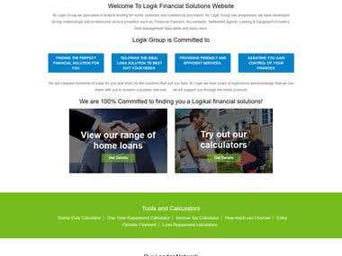 Logik Financial Solutions Website