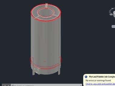 Concept Design for a Heating furnace