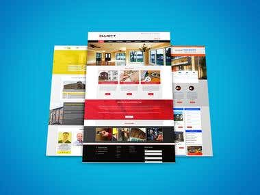 WEBSITE PSD MOCKUP DESIGN